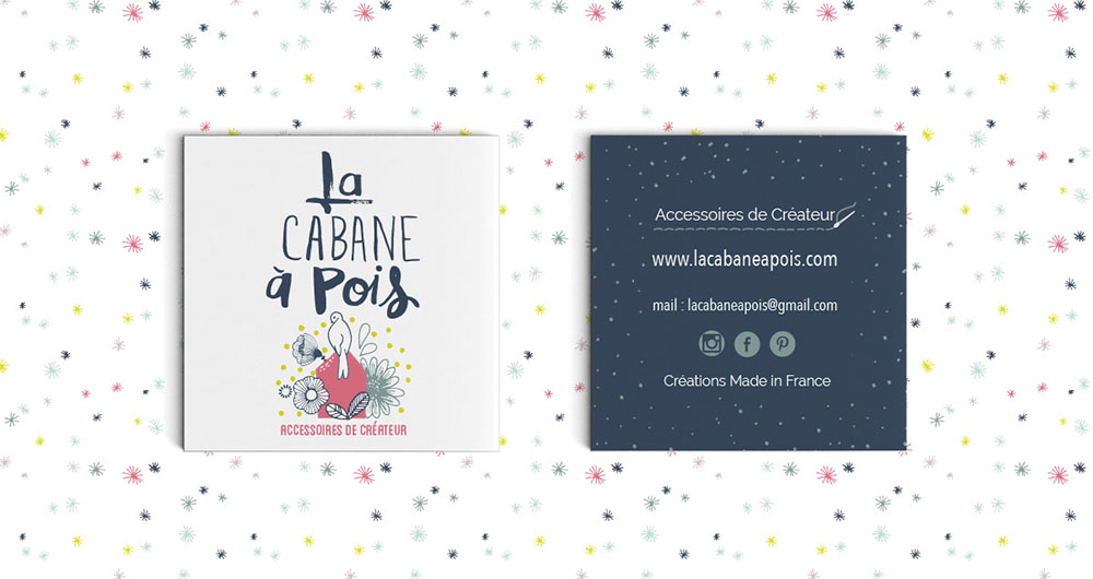 Carte Visite Cabane A Pois Zones Dintervention