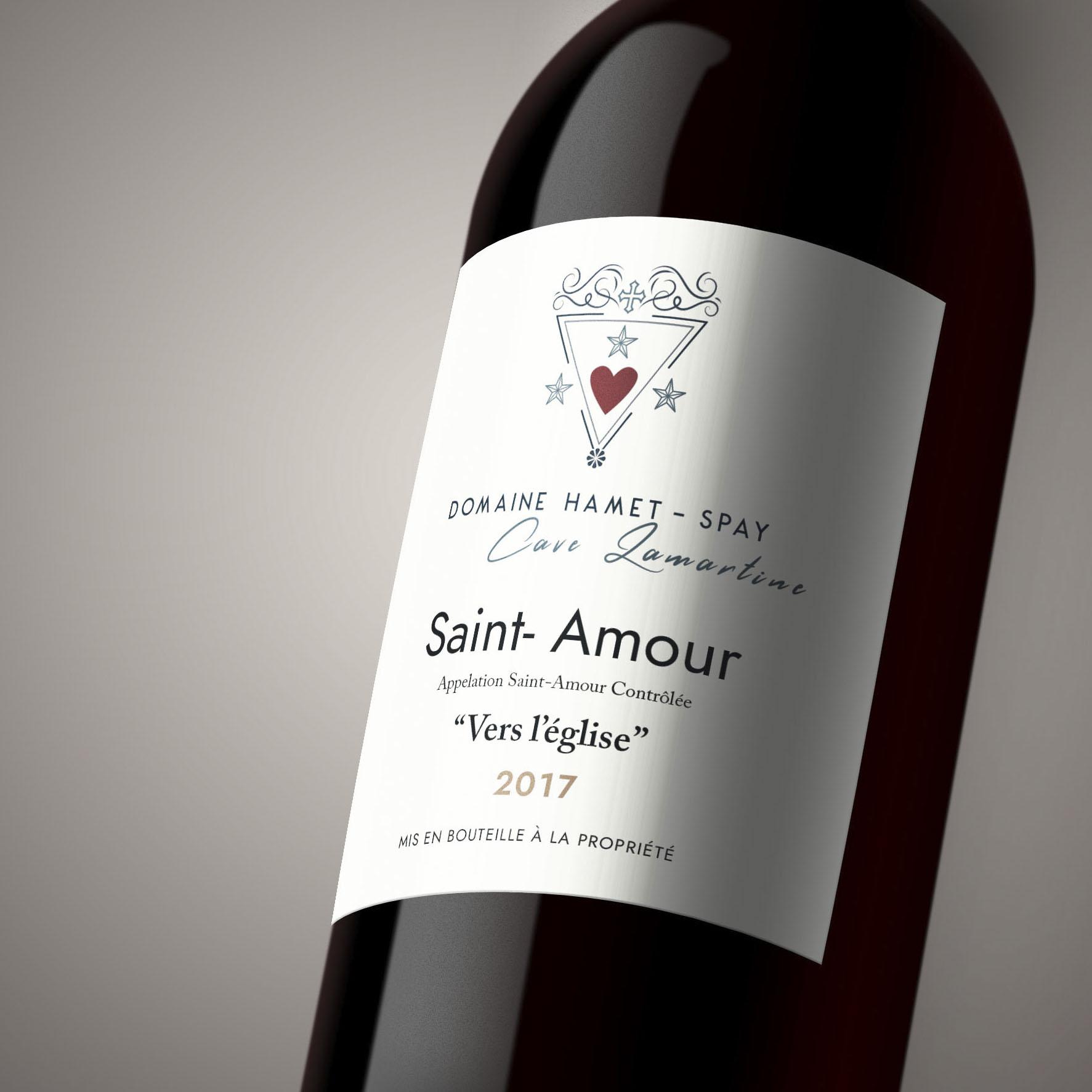 réalisation logo domaine viticole haret spay